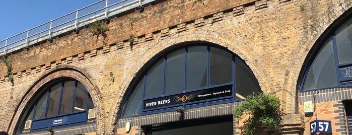 Hiver Beers and Taproom is one of The Bermondsey Beer Mile.