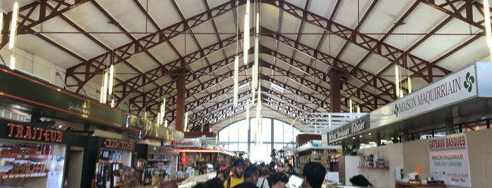 Les Halles is one of Aquitaine-Basque.
