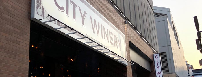 City Winery is one of Places to Go.