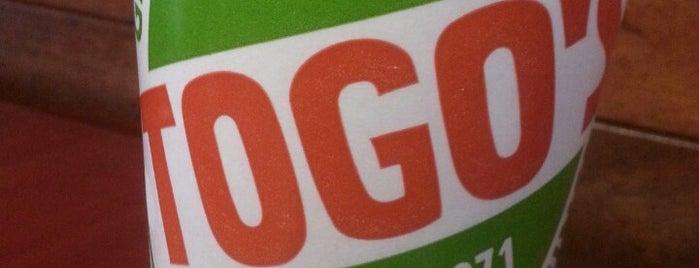 TOGO'S Sandwiches is one of สถานที่ที่ Andrew ถูกใจ.