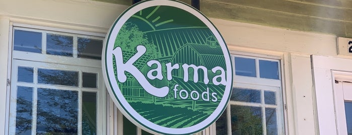 Karma Foods is one of Cape Cod.