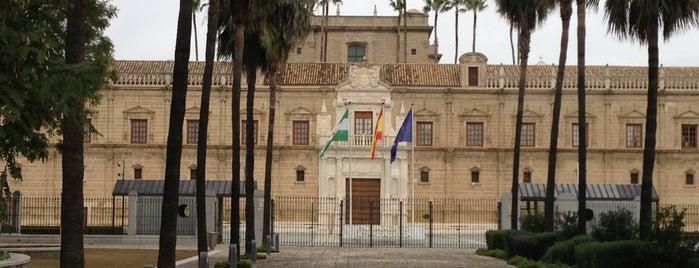 Parlamento de Andalucía is one of Cosas que ver en Sevilla.