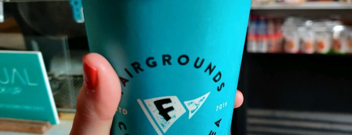 Fairgrounds Coffee And Tea is one of Lugares favoritos de Alberto J S.