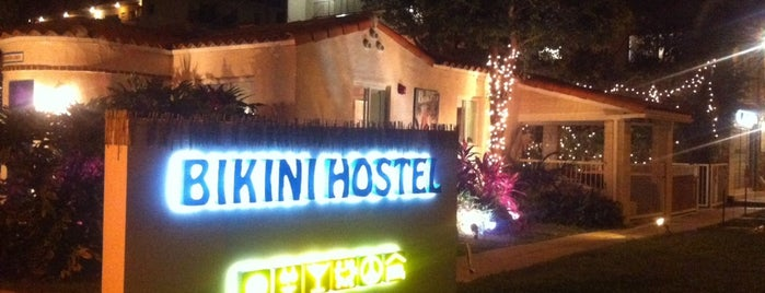 Bikini Hostel is one of Locais curtidos por Lara.
