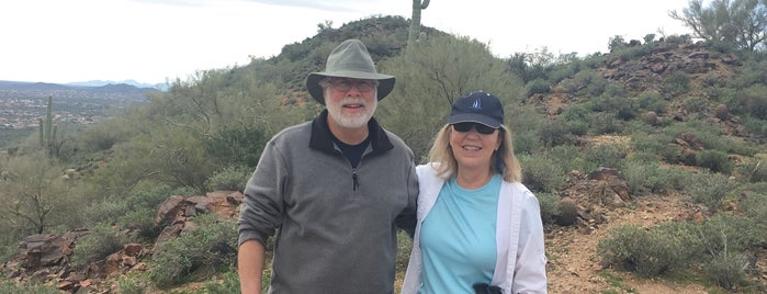 Hiking on Daisy Mountain is one of Steve's To Do.
