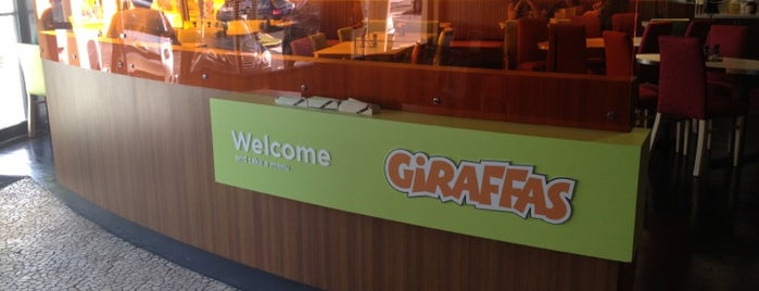 Giraffas is one of สถานที่ที่ B David ถูกใจ.