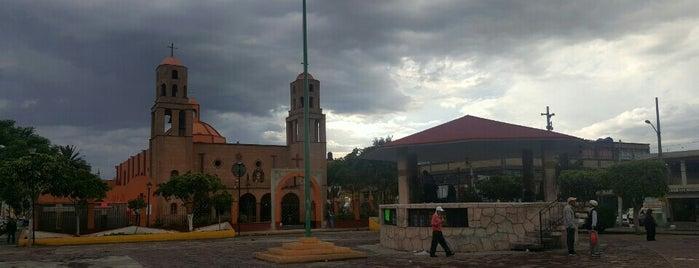 Kiosco Del Pueblo De San Juan De Aragon is one of Tempat yang Disimpan Tamara.