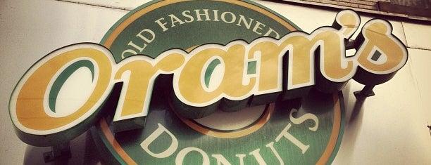 Oram's Donuts is one of Breakfast Spots.