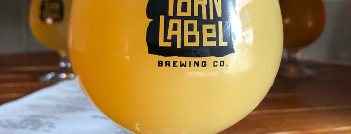 Torn Label Brewing Company is one of Marty mar always love and thanks.