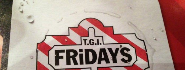 TGI Fridays is one of Pravin 님이 좋아한 장소.