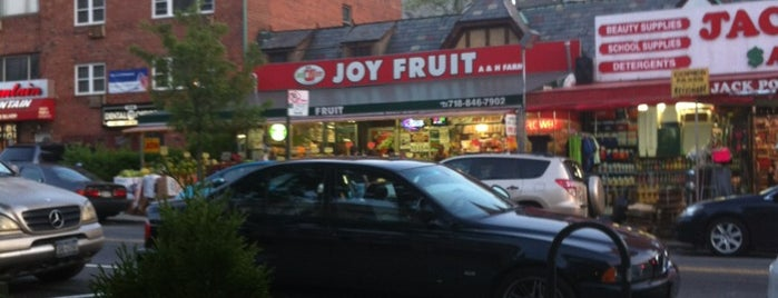 Joy Fruit is one of Places.