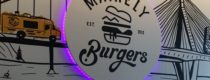Mainely Burgers is one of Boston Favorites.