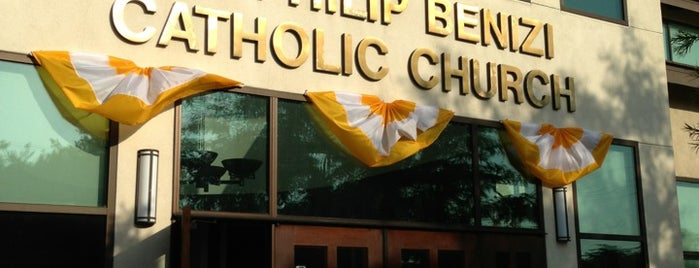 Saint Philip Benizi Church is one of Posti che sono piaciuti a Jason.