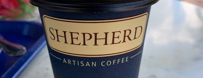 Shepherd Artisan Coffee is one of Danyel : понравившиеся места.