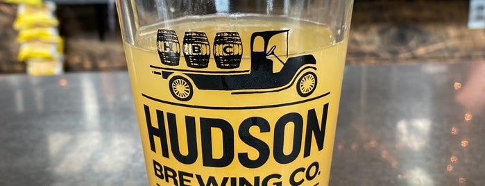 Hudson Brewing Company is one of Hudson.