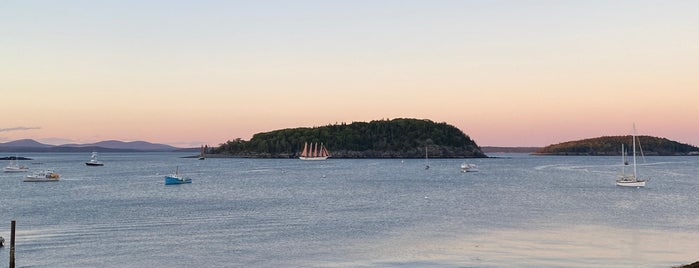 Terrace Grill At The Bar Harbor Inn is one of Maine   August 2020.