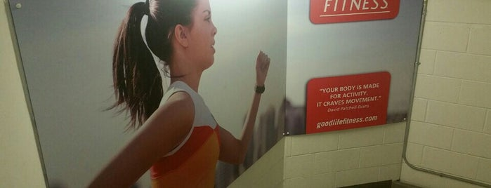 GoodLife Fitness Toronto Bell Trinity Centre is one of michal'ın Beğendiği Mekanlar.