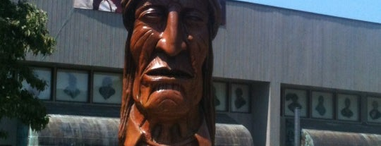 Cherokee Indian Reservation is one of Asheville.