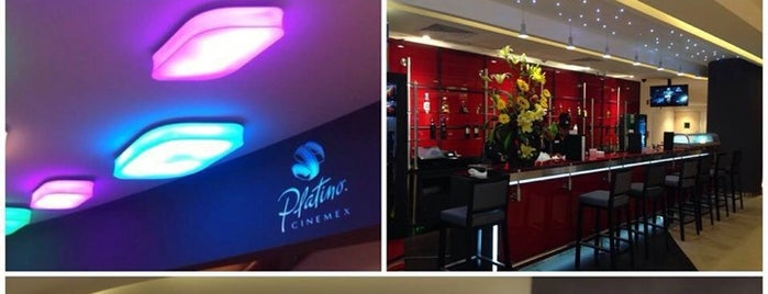 Cinemex Platino is one of Tempat yang Disukai Alicia.