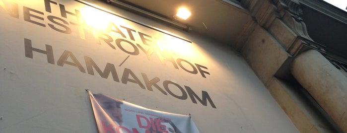 Theater Nestroyhof Hamakom is one of Daniel 님이 좋아한 장소.