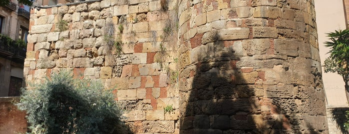 Muralla Romana i Torres de Defensa is one of Barcelona last day.