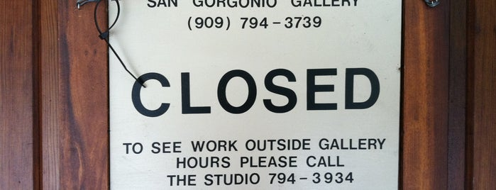 San Gorgonio Gallery is one of California.