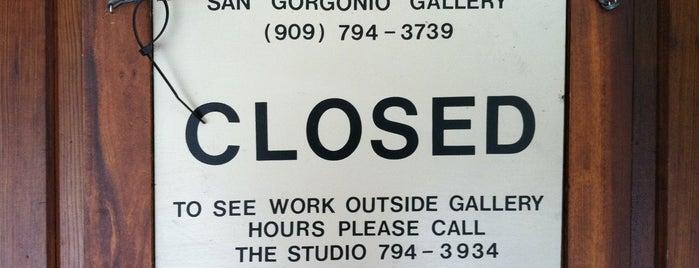 San Gorgonio Gallery is one of California.