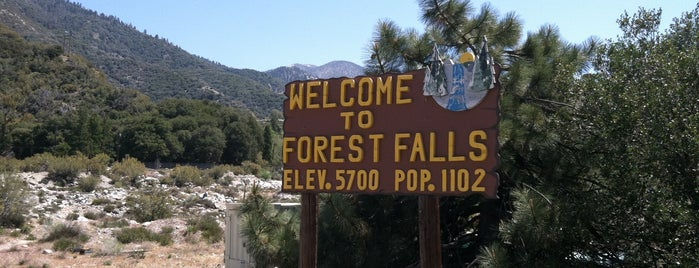 Welcome to Forest Falls Sign is one of California.