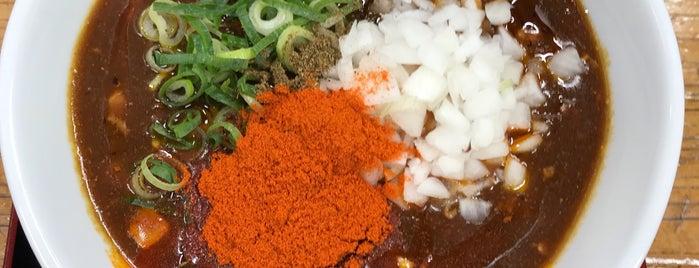辛っとろ麻婆麺 あかずきん is one of 23区内の鯛ラーメン.