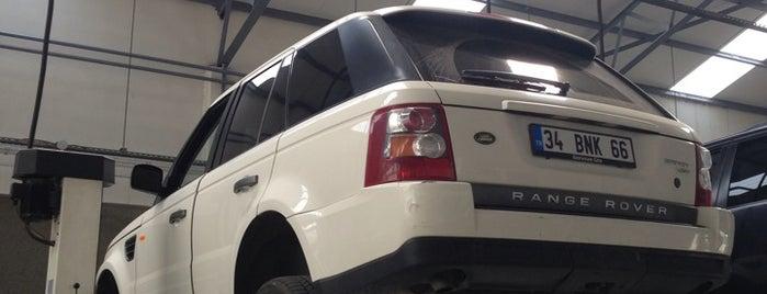 Borusan Oto Land Rover Showroom is one of Beğenilen.