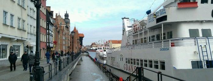 Długie Pobrzeże is one of Gdansk.