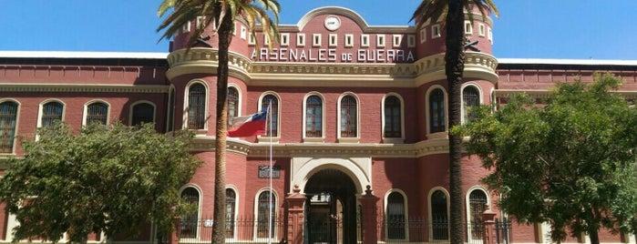 Arsenales de Guerra is one of Monumentos Nacionales.