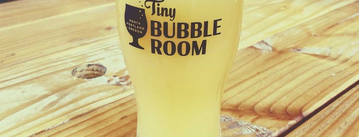Tiny Bubble Room is one of Bars I've Been To.