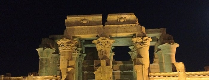 Temple of Kom Ombo is one of Locais curtidos por Emilio.