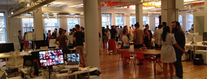 Percolate NYC is one of Silicon Alley, NYC.