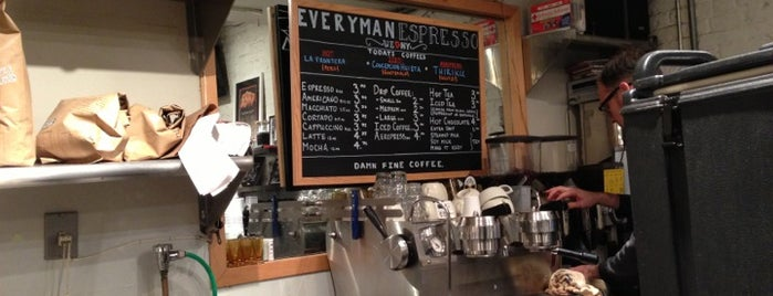 Everyman Espresso is one of Work Cafés.