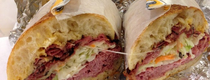 Lenwich by Lenny's is one of Midtown Lunch.