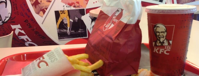 KFC is one of Fransa - Paris 🗼.