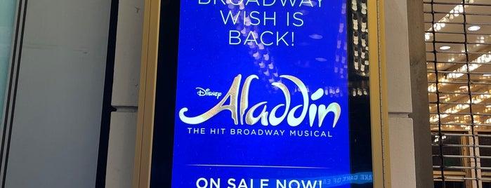 Aladdin @ New Amsterdam Theatre is one of New York.