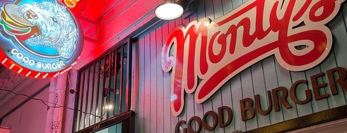 Monty's Good Burger is one of Vegetarian.