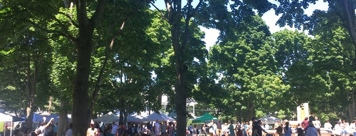 Hope St./Lippitt Park Farmers Market is one of Posti che sono piaciuti a Al.