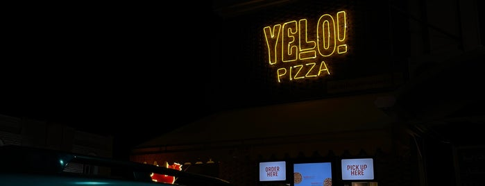 YELO ! pizza joint is one of Kuwait.