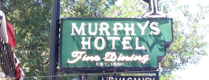Murphys Historic Hotel is one of Neon/Signs N. California 2.