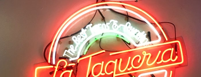 La Taqueria is one of America's Greatest Taco Spots.