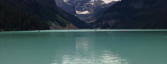 Lake Louise is one of Alberta - Wild Rose Country.