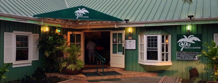 CJ's Steak & Seafood is one of Lugares guardados de Kat.
