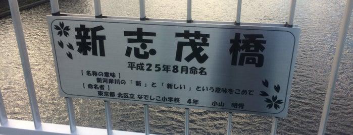新志茂橋 is one of Masahiro'nun Beğendiği Mekanlar.