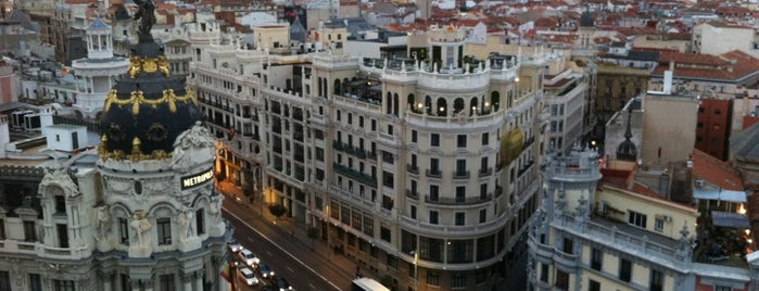 Azotea Círculo de Bellas Artes is one of Spain Luxury, Cool & Chic.