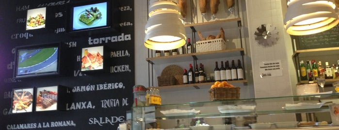 Restaurant Santa Anna is one of // Barcelona.