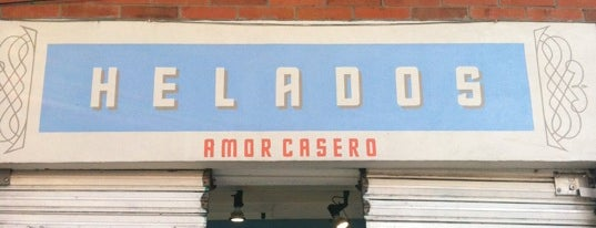 Amor Casero is one of CDMX helados y paletas.